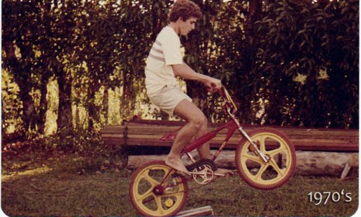 Passing time at uncle's house, Digital Hippie 1970's