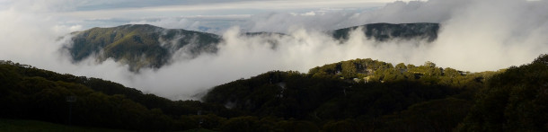 Clearing Storm, Snow in Summer at Mt Buller