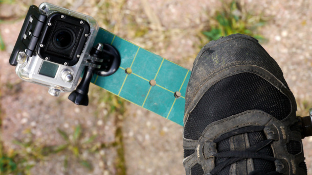 Rider's View of DIY GoPro Pedal Cam