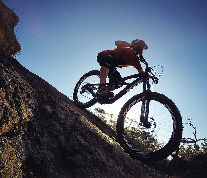 We be rollin Plus style, Ibis Mojo 3 Review